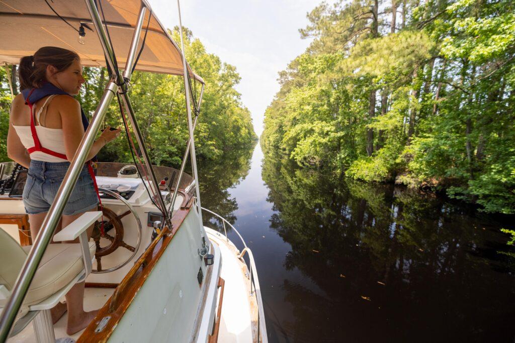 Great Dismal Swamp on America's Great Loop